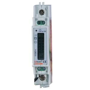 modbus single phase din rail energy meter with 10(60)A 220V input ADL10-E/C