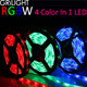 DC24V 60LEDS 72LEDS 96LEDS per meter 4 in 1 chip rgbw smd5050 led strip