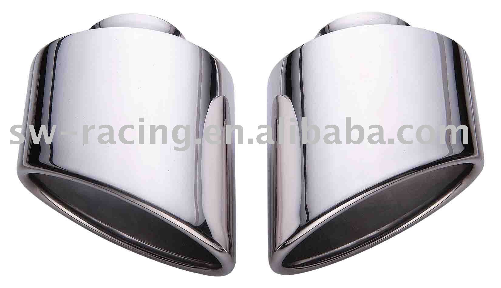 Car Stainless Steel Exhaust Tips / Pipes for PORSCHE 993