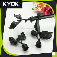 Direct sale luxury style elegant curtain rods cover,AAA quality decorative curtain rods