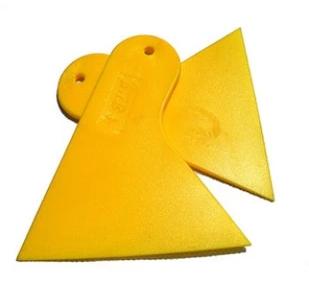 2 частей / серия плёнка инструмент автомобиль плёнка скребок высокая термостойкость компактный лопаточка копировальная бумага скребок автомобиль скребок