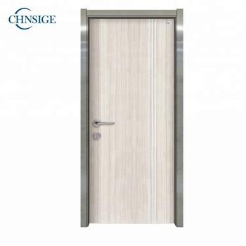 Solid Wood Interior Door With Pressed Steel Door Frames - Buy Solid ...