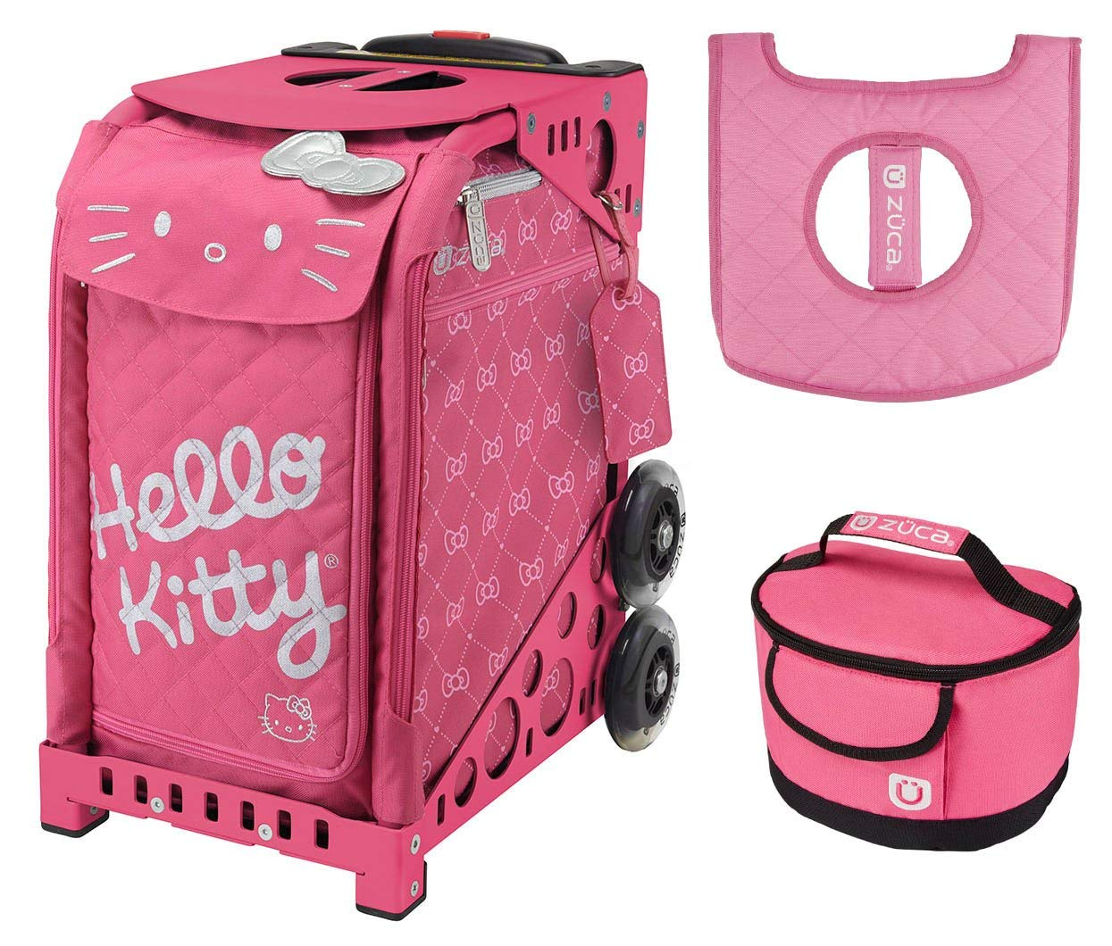 Get Quotations · Zuca Hello Kitty Pink Luxe Bag 06bb72e32a597