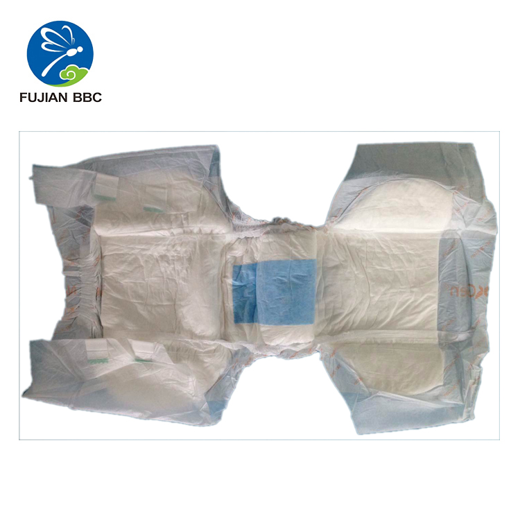 Printing PE film soft adult diaper customized ultra thick adult diaper dry surface non woven fabric adult diapers