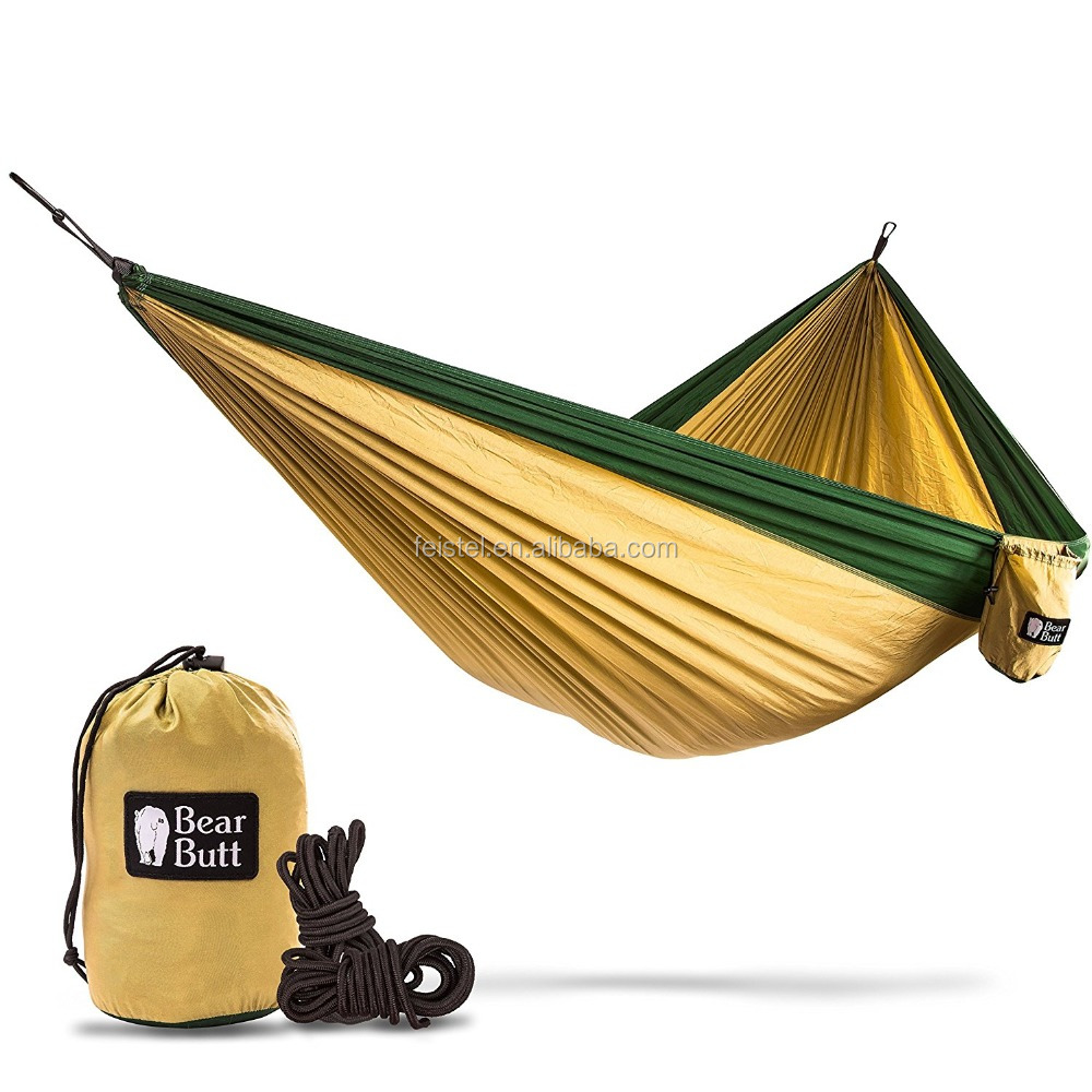 Premium Double Hanging Hammock Comfortable, Portable, Compact, Ultralight and Washable For The Best relaxing Experience