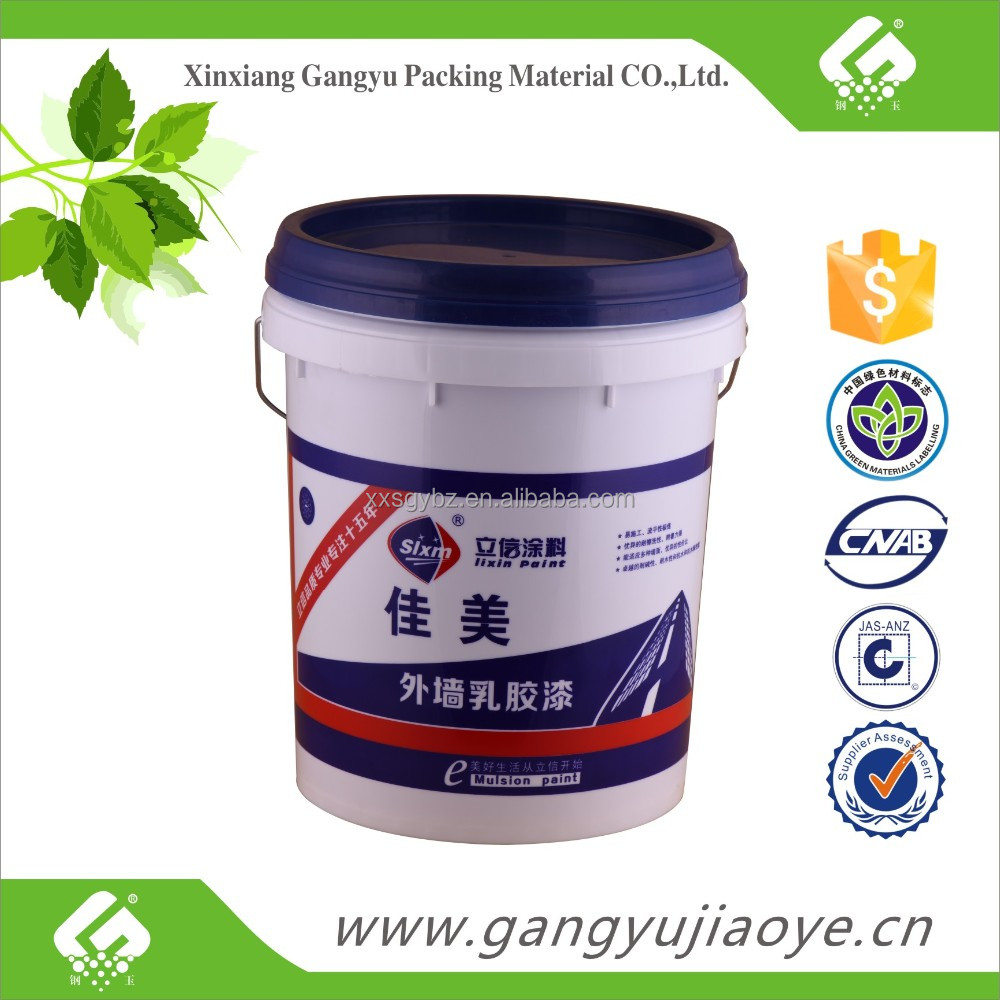 hot sale OEM 10L plastic paint pail