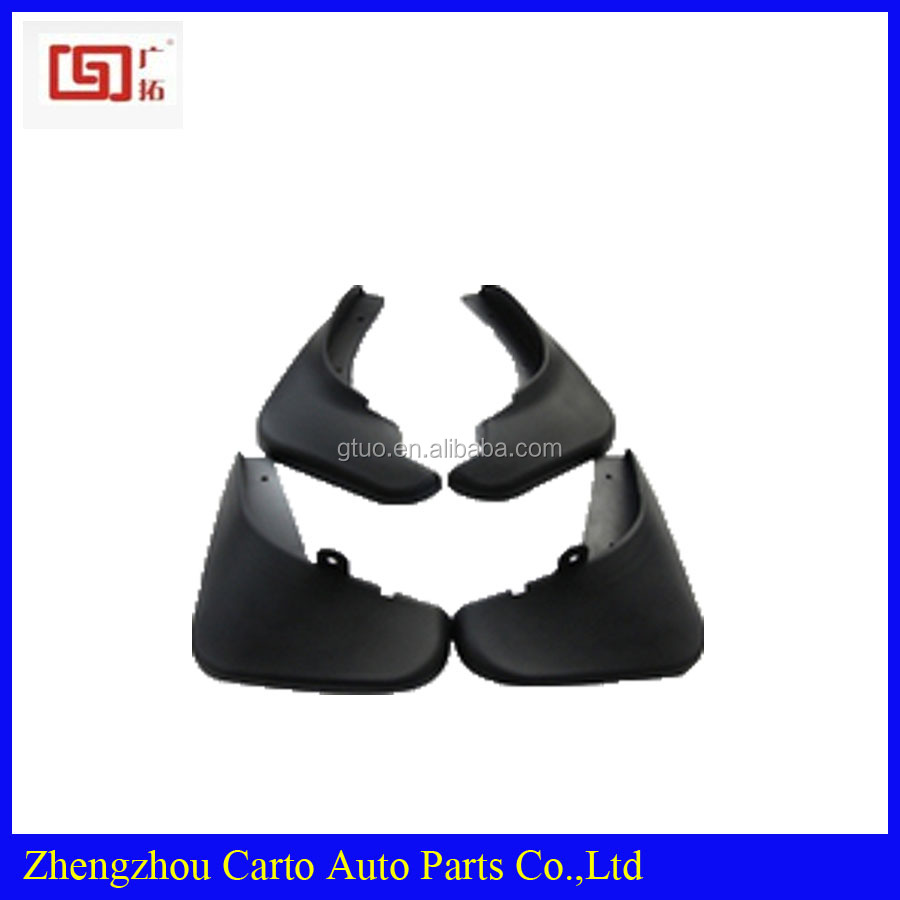 Black color mud flaps for toyota prado with plastic material 4x4