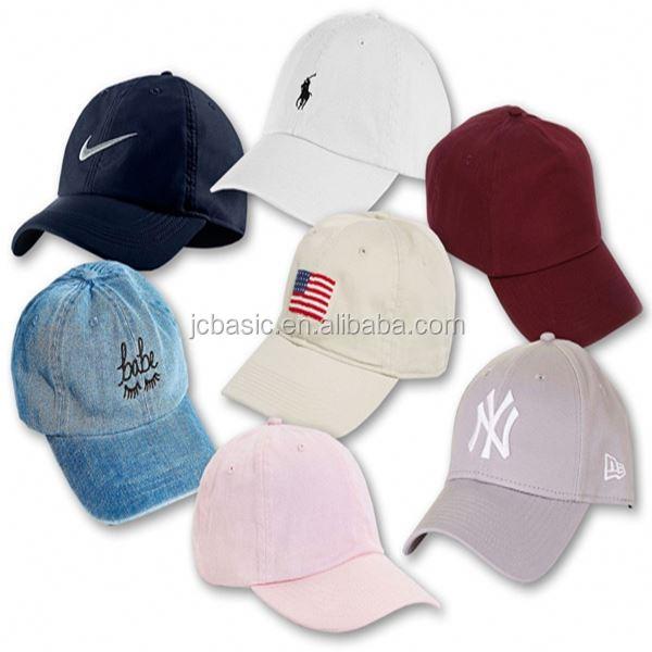 OEM Custom Wholesale Fashion Cotton Twill Hat Cap Baseball Cap/Hat 6 Panel Hat/Cap Blank Logo