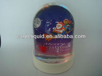 customized holiday gift plastic snow dome snow globe
