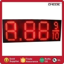 OEM Digital Gas Price Display LED Display Price Board