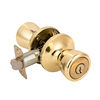 Exterior Door Knob Lock Stainless Steel Keyed Knob Door Lock