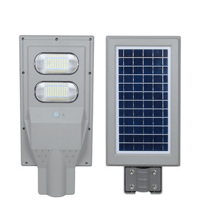 New product high lumen bridgelux Waterproof 30w 60w 90w all in one solar led street lights