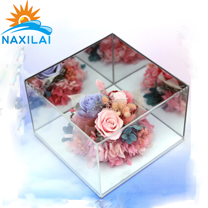 Acrylic Flower Box For Display Storage Case