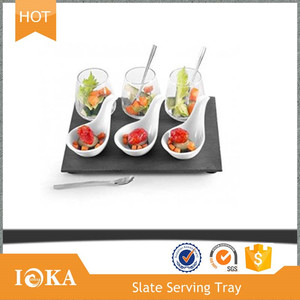 IOKA Stone Offers slate plate dishes for Restaurant