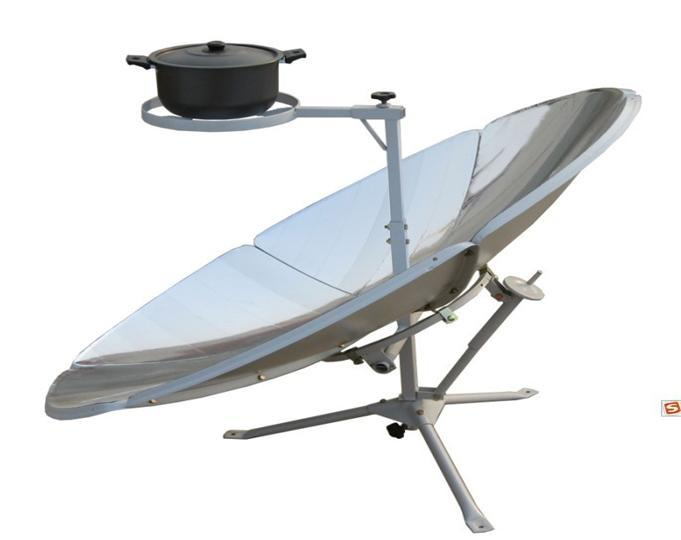 <strong>solar</strong> reflector heating cooker used for outdoor utensil