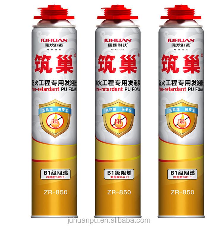 erweiterung b2 feuerfeste pu schaum spray polyurethanschaum 750 ml klebstoff und. Black Bedroom Furniture Sets. Home Design Ideas