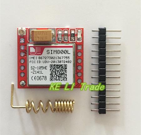SIM800L pinouts / network problem