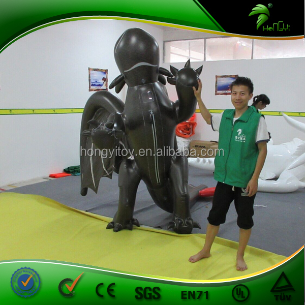 Hongyi Create Inflatable Dragon Costume For People