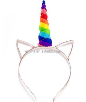 Fancy Dress Unicorn Horn Women Girls for Party Little Pony Headband SD183 d8892e4f375
