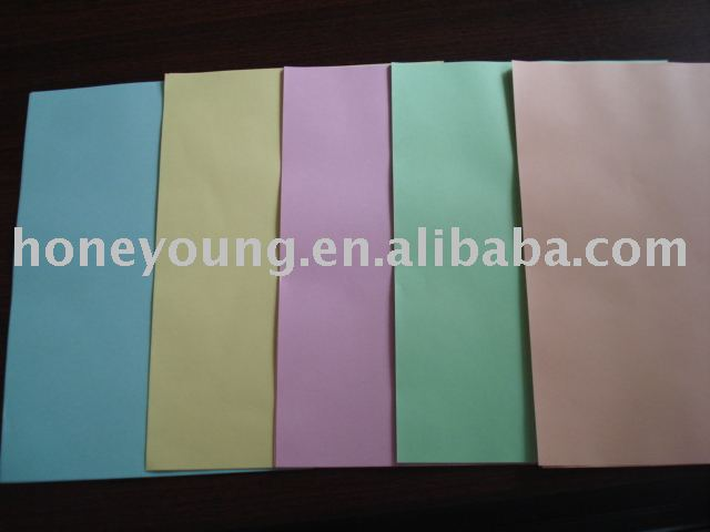 manifold paper with many colors