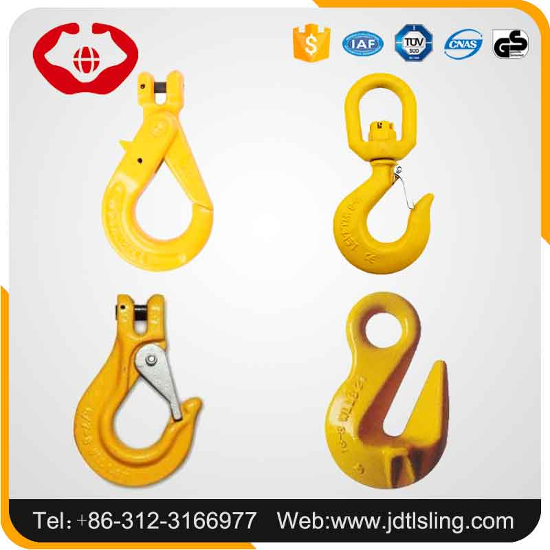 Suitable For Chain H-331 Type Self Latch Crane Clevis Lifting Hook