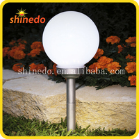 decor solar garden lighting pole light for fence post