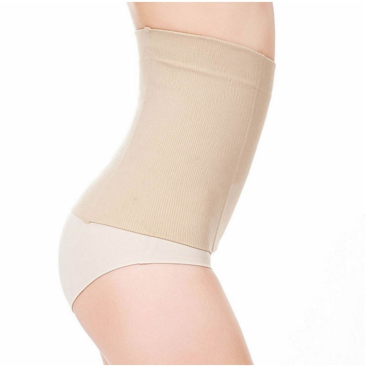 Plus Size Women Postpartum Waist Shaper Slimming Seamless Waist Trainer Corset