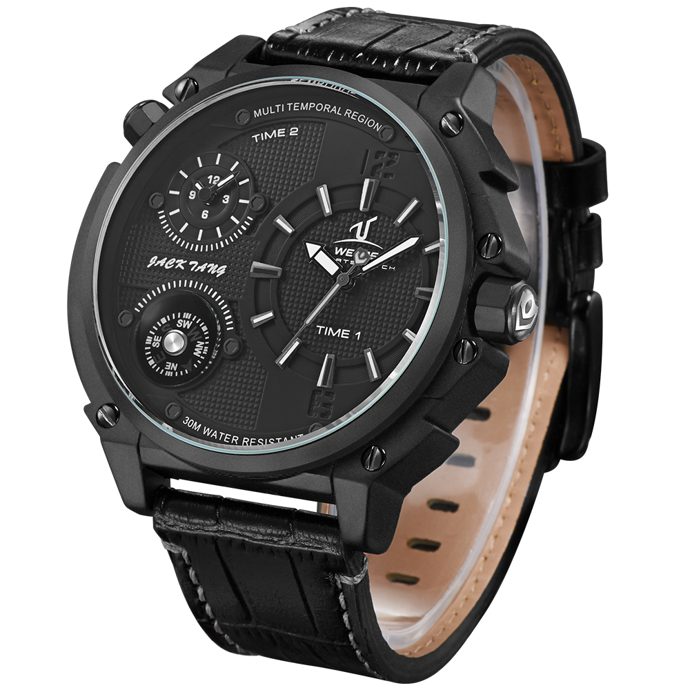 China Watch Factory Multiple Time Casual Japan Quartz Military Sports Watches Men Wrist Wholesale
