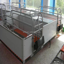 pig farrow crate for pig farm/hot galvanized farrowing crate pig flooring