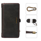 Wholesale 4 Colors Leather Wallet Phone Case For Iphone 7 8 With Zipper Card Slot Fashion Bag Phone Cover Case