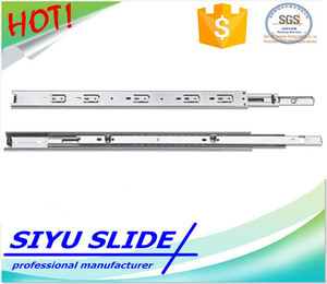 SIYU 37mm Hot Sell Bottom Fix Wire Basket Drawer Runner Slide