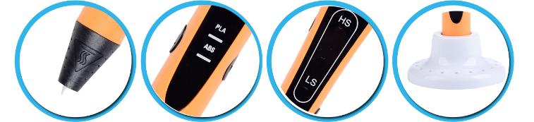 Hot sale pen  intelligent printing educational 3D pen creative  usb 3d pen