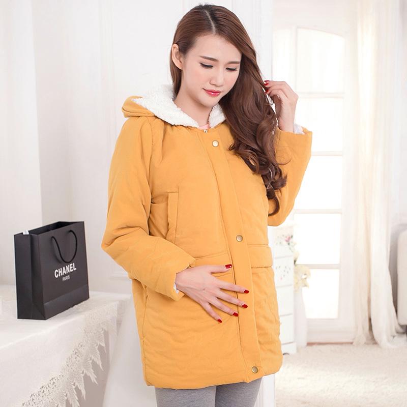 1601 # для беременных пальто зима одежда для беременных женщины тёплый одежда для беременность пальто куртка