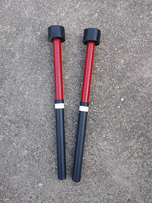 KaKesa Steel Drum Pan Mallets Sticks Wood Trini - Guitar/Cello