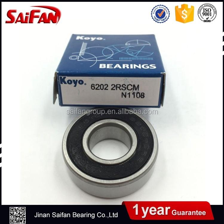 Koyo 6202 C3 2RS Deep Grove Bearing 15x35x11mm