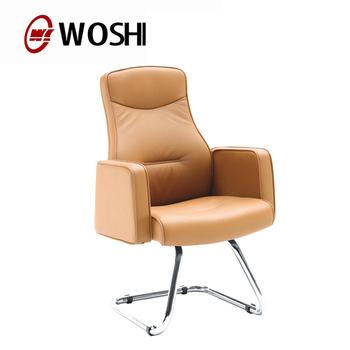 Luxe Leren Bureaustoel.Mobiel Kantoor Stoelen Luxe Lederen Bureaustoel Met Wielen