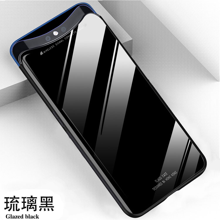 quality design 07561 b53a4 Customized Solid Color Glass Back Cover Hardware Protection Mobile Phone  Case For Oppo Find X - Buy Back Cover For Oppo Find X,Case For Oppo Find ...