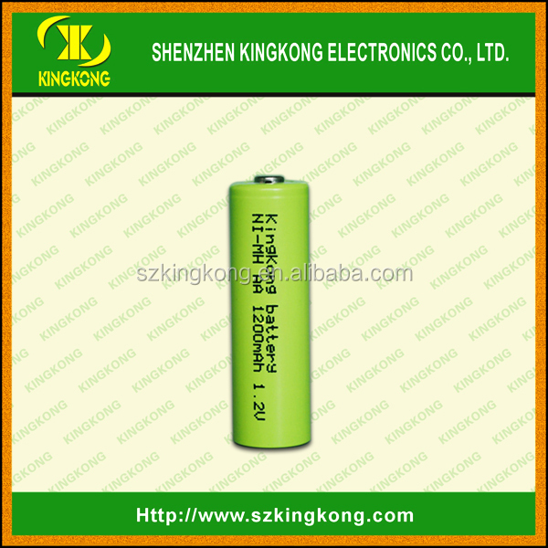 low self discharge 1.2V 1200mAh AA sizeRechargeable battery