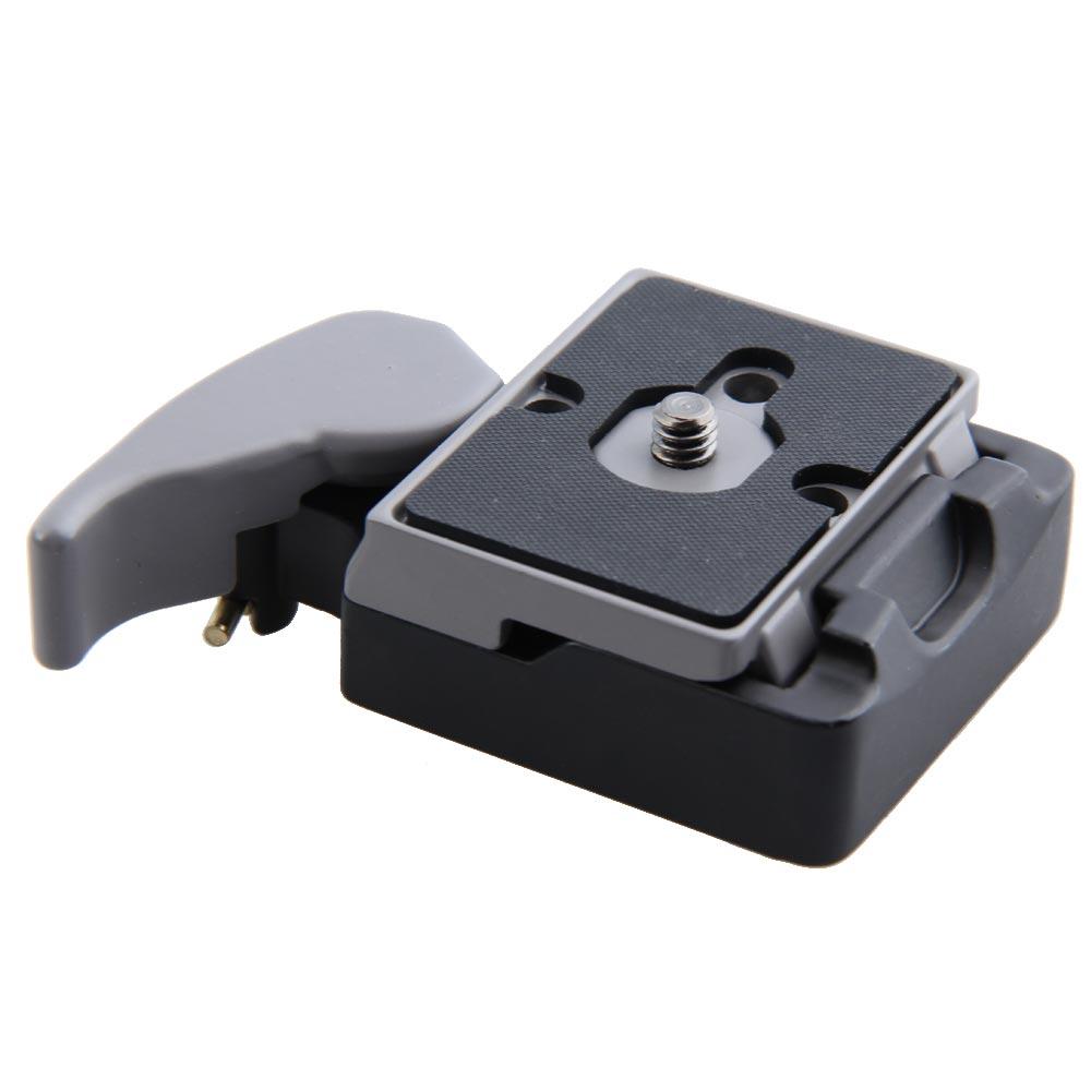 Черный камеры 323 быстроразъемные адаптер с Manfrotto 200PL-14 Compat пластины BS88 HB88