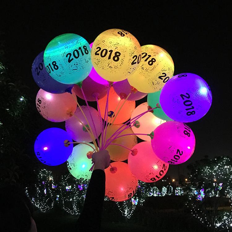 light baloon balloons party balloon multicolor decorative decor wedding led item up ball