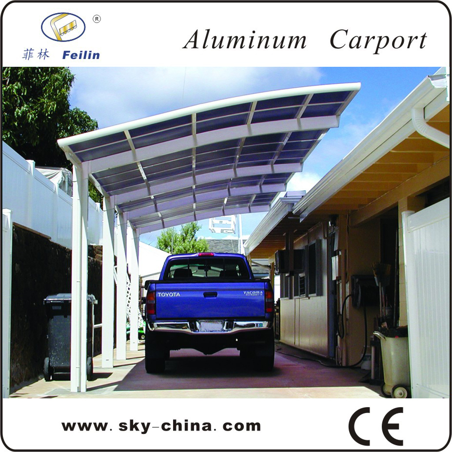 Ce Certification Polycarbonate Driveway Gate Canopy
