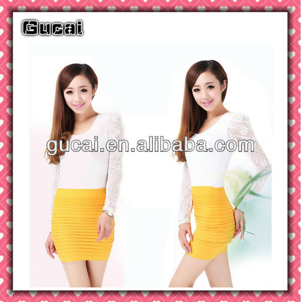 Lady/'s Womens A-Line Slim Seamless Stretch Tight Short Fitted Mini Dress Skirt