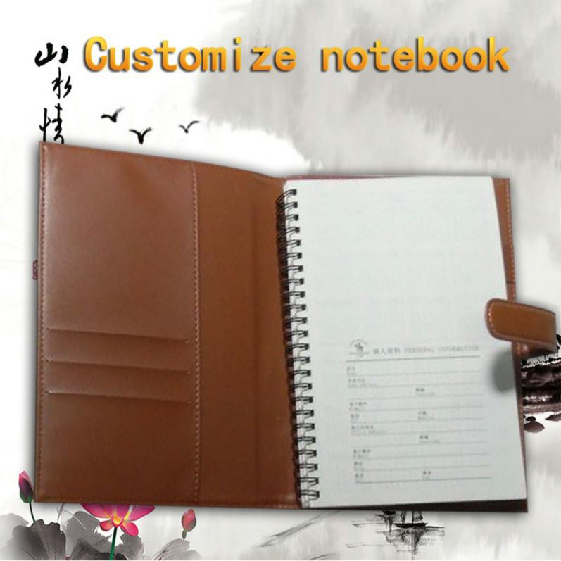 Eco-Friendly Uncoated Paper Thick School Supply Of Cheap Spiral Notebook