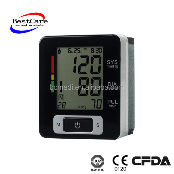 BP monitor two users mode NIBP measurement accurate upper arm blood pressure monitor