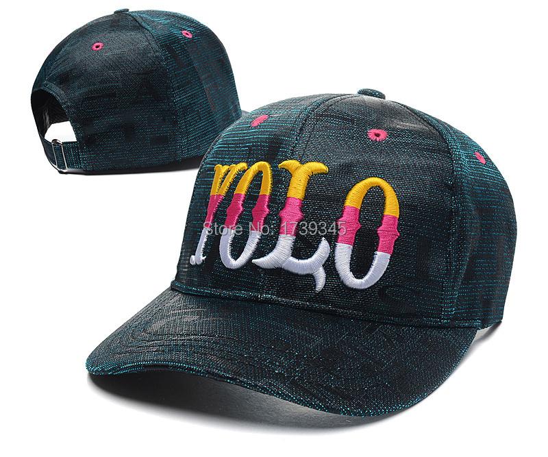 b91e8bc9f534a Get Quotations · New Hot YOLO Snapback hats gold Famous Brand Hip Hop men s  womens Sports sun 2 stylesgorras