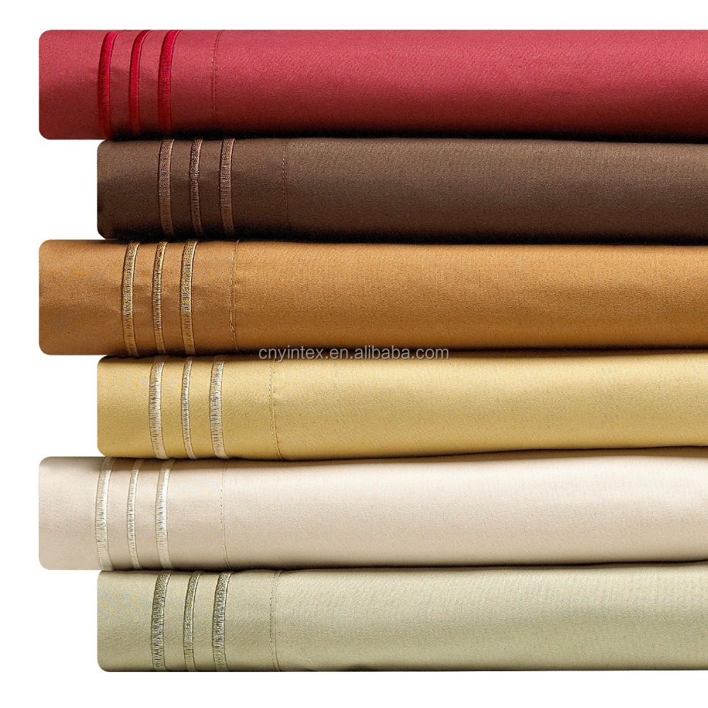 Yintex 1800 Thread Count Microfiber Bed Sheets Buy Microfiber Bed