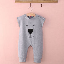 Cute Clothes Newborn Spring Summer Baby Girl Boy Cotton Short Sleeve Rompers Playsuit Jumpsuits Outfits