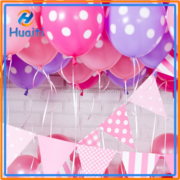 Wholesale Decoration balloons printed birthday balloons latex balloon