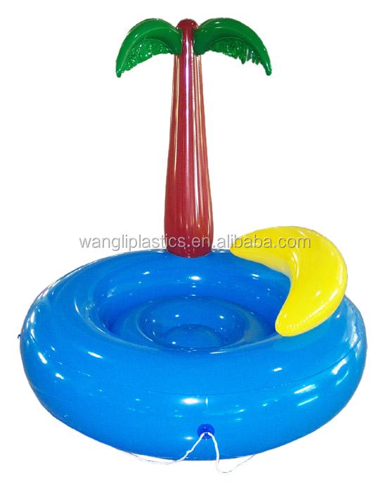 Vente chaude piscine le flottante gonflable d 39 eau le flottante appareil - Ile flottante gonflable ...