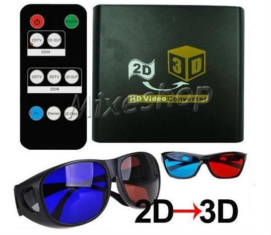 3D convertor, watch 3DTV on a regular HDTV